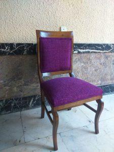 silla tapizados artesanos, tapiceros, retapizados, tapizados a medida