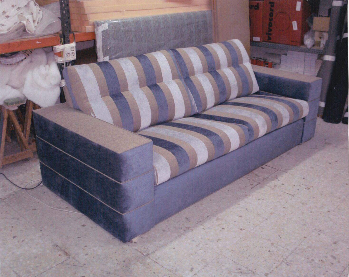 Sofa macao tapizados artesanos tapizados artesanos - Tapizados para sofas ...